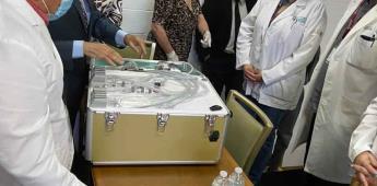 Recibe Secretaría de Salud de B.C. donación de equipo de atención dental