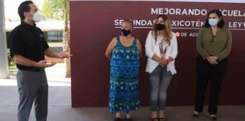 Aportan donativo en apoyo a escuelas municipales de Tijuana