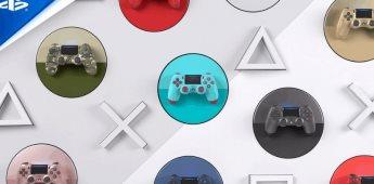 Regresan colores seleccionados del DualShock 4 del PS4