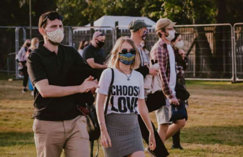 Primer concierto presencial en pandemia