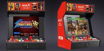 Vuelve a jugar a maquinitas, la Neo Geo MVS X llegará a México
