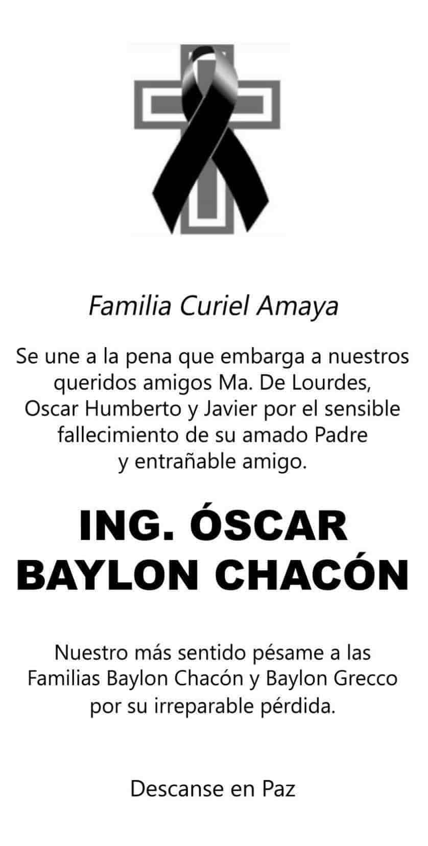 Óscar Baylon Chacón