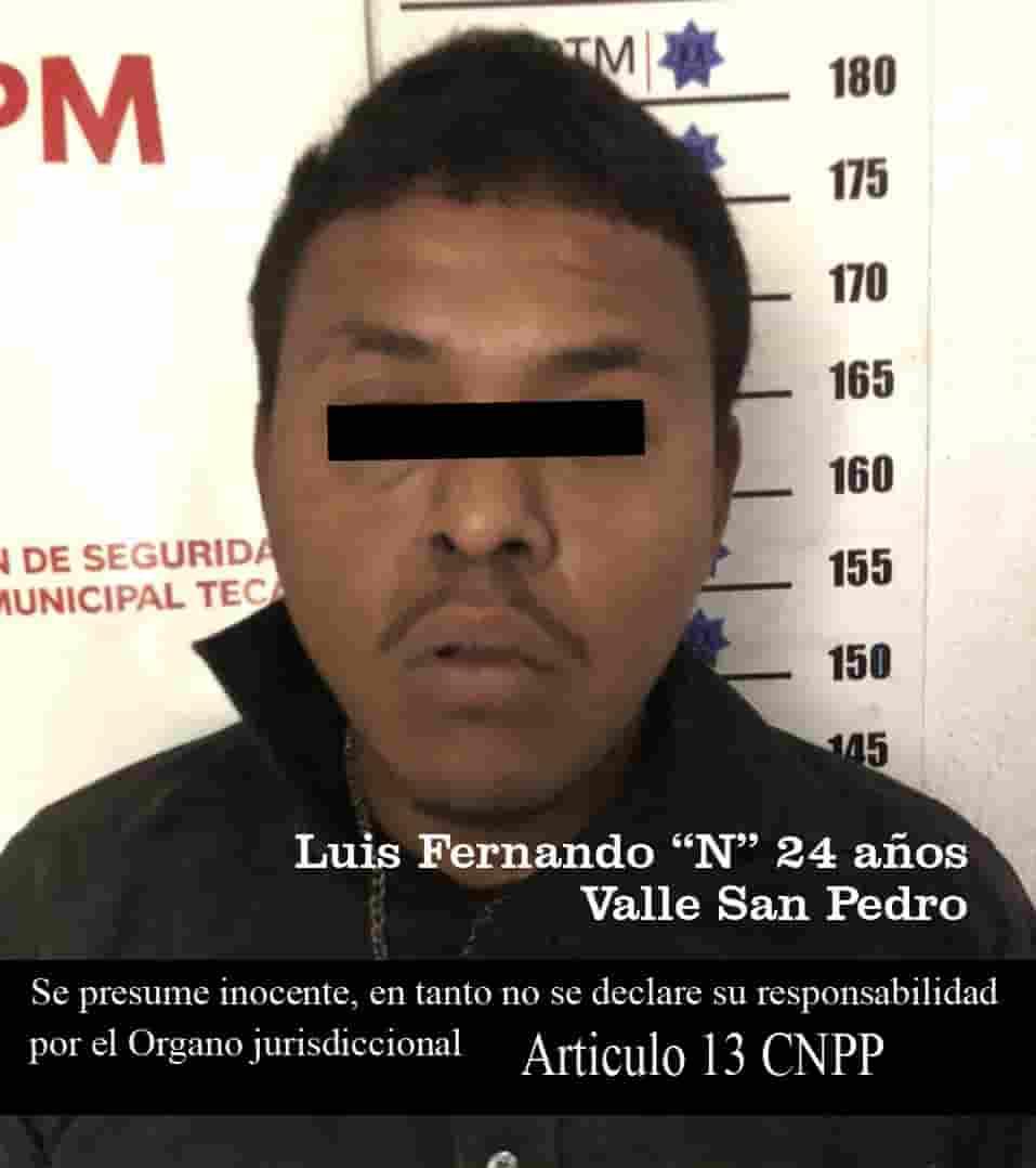 Seis presuntos detenidos por reporte de disparos y privación ilegal