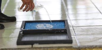 Cómo hacer un tapete sanitizante casero