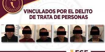 Procesan a 6 personas acusadas de trata de personas en Tecate