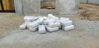 En coordinación aseguran  SSPCM y SEDENA más de 250 kilogramos de droga