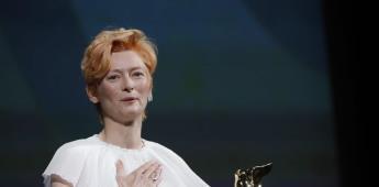 Wakanda Forever; Tilda Swinton hace homenaje a Chadwick en Festival de Venecia
