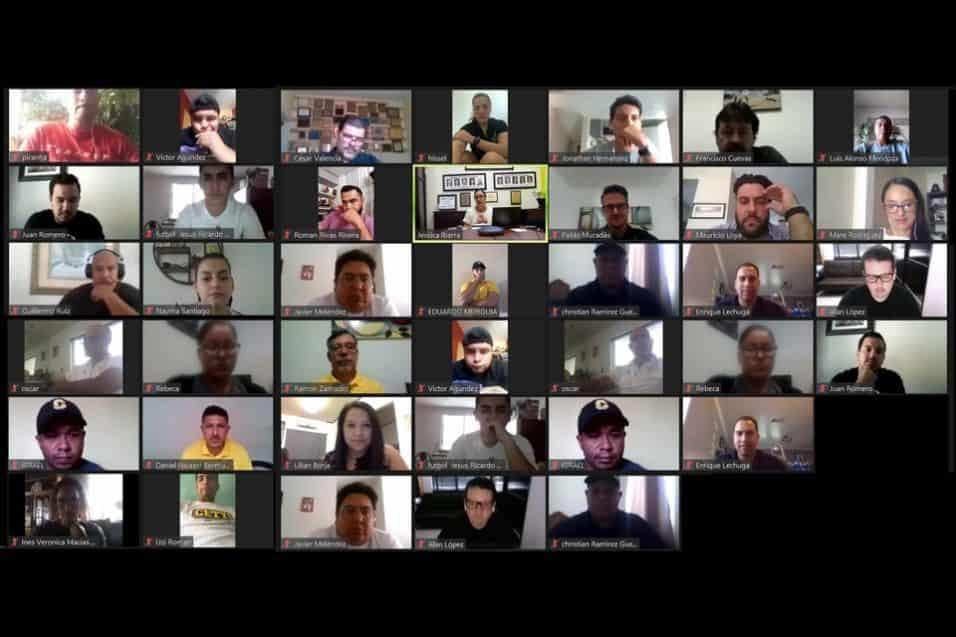 Sostienen encuentro virtual entrenadores de Cetys TIJ