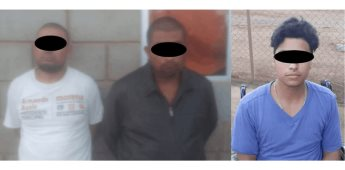 Detienen a tres con drogas en San Quintín