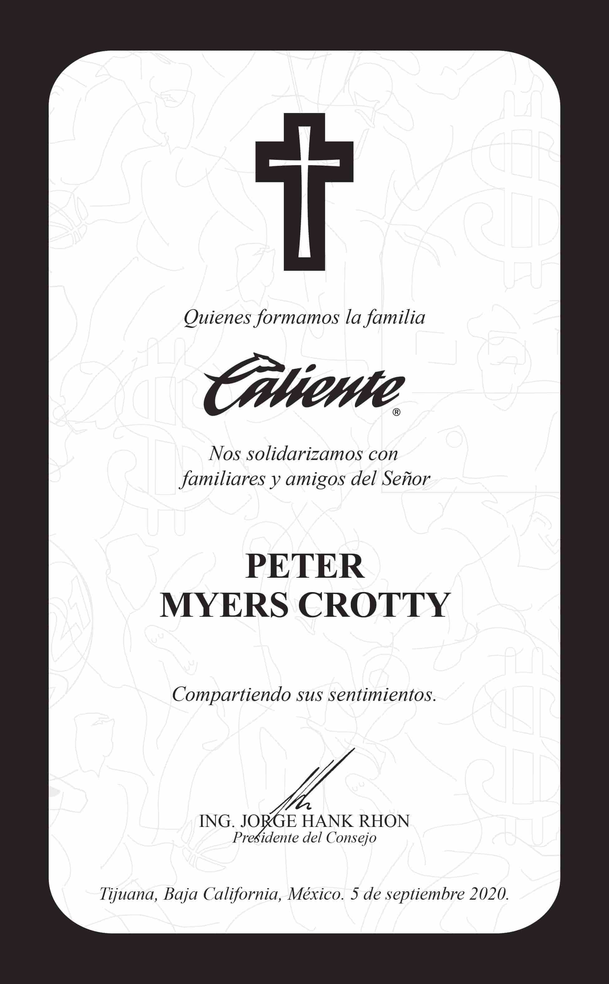 Peter Myers Crotty