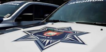 Rescatan policías municipales a persona privada de su libertad