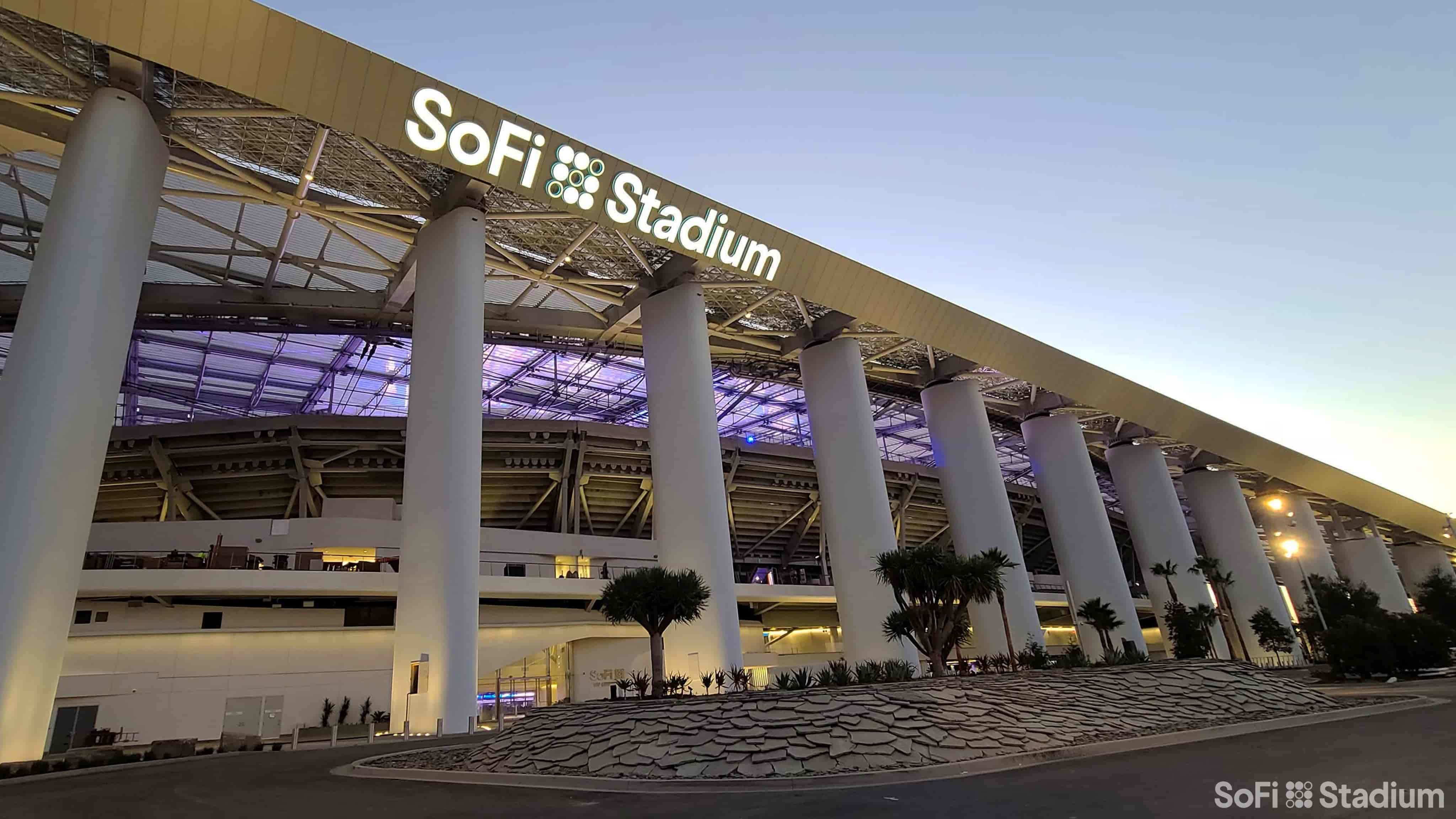 Inauguran Estadio SoFi