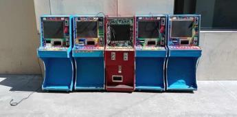 Tras denuncia anónima Fiscalía Estatal decomisa 5 mini casinos