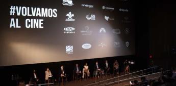 """CANACINE, distribuidores y exhibidores de películas lanzan la campaña """"Volvamos al Cine"""""""