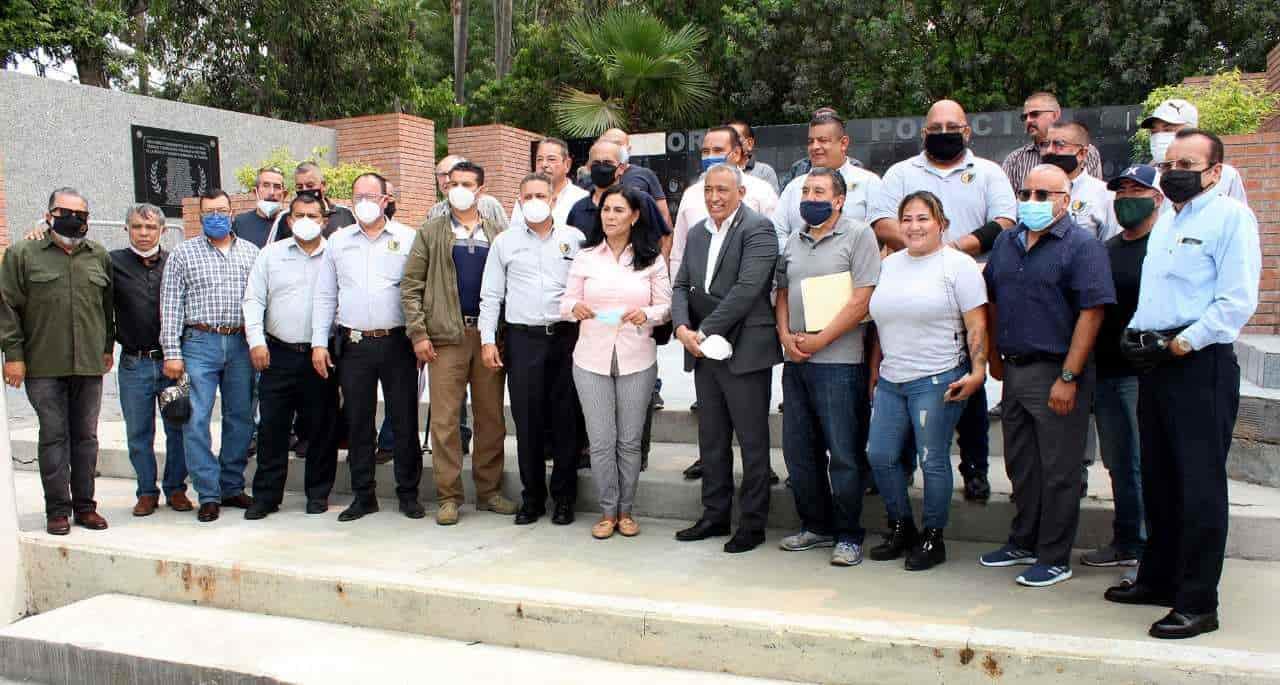 Impulsa Asociación de Policías de Tijuana condiciones de bienestar para sus agentes