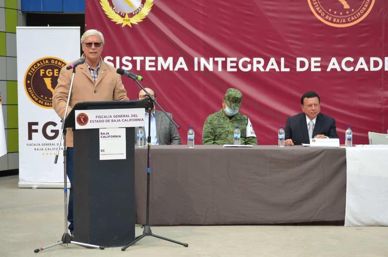 Presenta Fiscalía General del Estado, el sistema integral de academias militarizadas