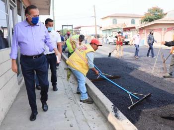 Más de 54 mil beneficiados con obras de bache y pavimentación en San Antonio de los Buenos: AGC