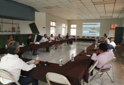 Realiza policía municipal jornada de limpieza reforestación con vecinos de la Col. Mariano Matamoros