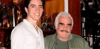 Alex Fernández, nieto de Vicente Fernández, se compromete