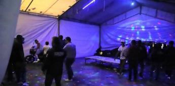 Advierten sobre repunte en fiestas clandestinas