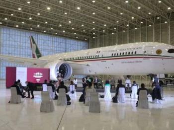 Los ganadores de la rifa del avión presidencial