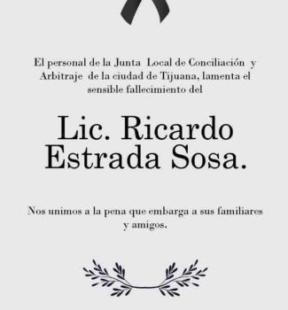 Lic. Ricardo Estrada Sosa