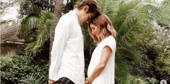 Ashley Tisdale y su pareja comparten comparten la espera de su primer hijo