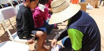 Realizan colecta en apoyo a la comunidad de San Quintín