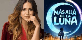 """Dana Paola interpreta la canción de """"Más allá de la luna"""" la nueva cinta de Netflix"""