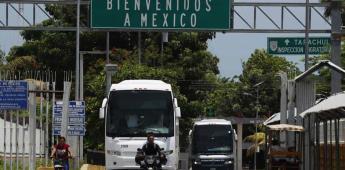 Guatemala reabre frontera con México, tras permanecer cerrada