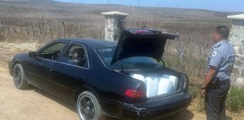 Patrullajes carreteros en Ensenada, aseguran 160 lts. de metafetamina