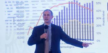López-Gatell refuta a revista The Lancet: son francas mentiras