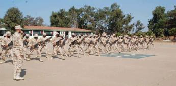 Realizan ceremonia de culminación de adiestramiento del 67 Batallón de Infantería