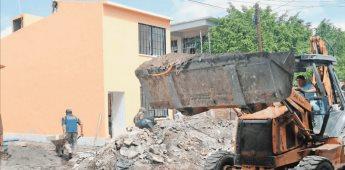 Infonavit destina 33 millones de pesos a la reconstrucción en Jojutla
