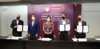 Atestigua Ayuntamiento alianza para el impulso inmobiliario de Tijuana