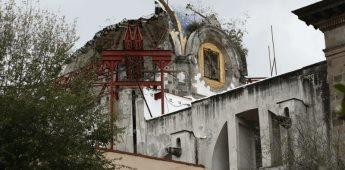 Tras sismos de 2017, se han reconstruido 69 de 160 iglesias