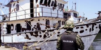 Marina incauta buque y combustible robado en el Golfo de México