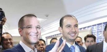 Marko Cortés celebra regresó de Ricardo Anaya a la vida pública