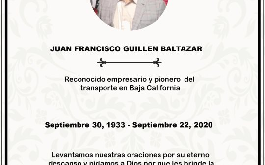 Juan Francisco Guillen Baltazar