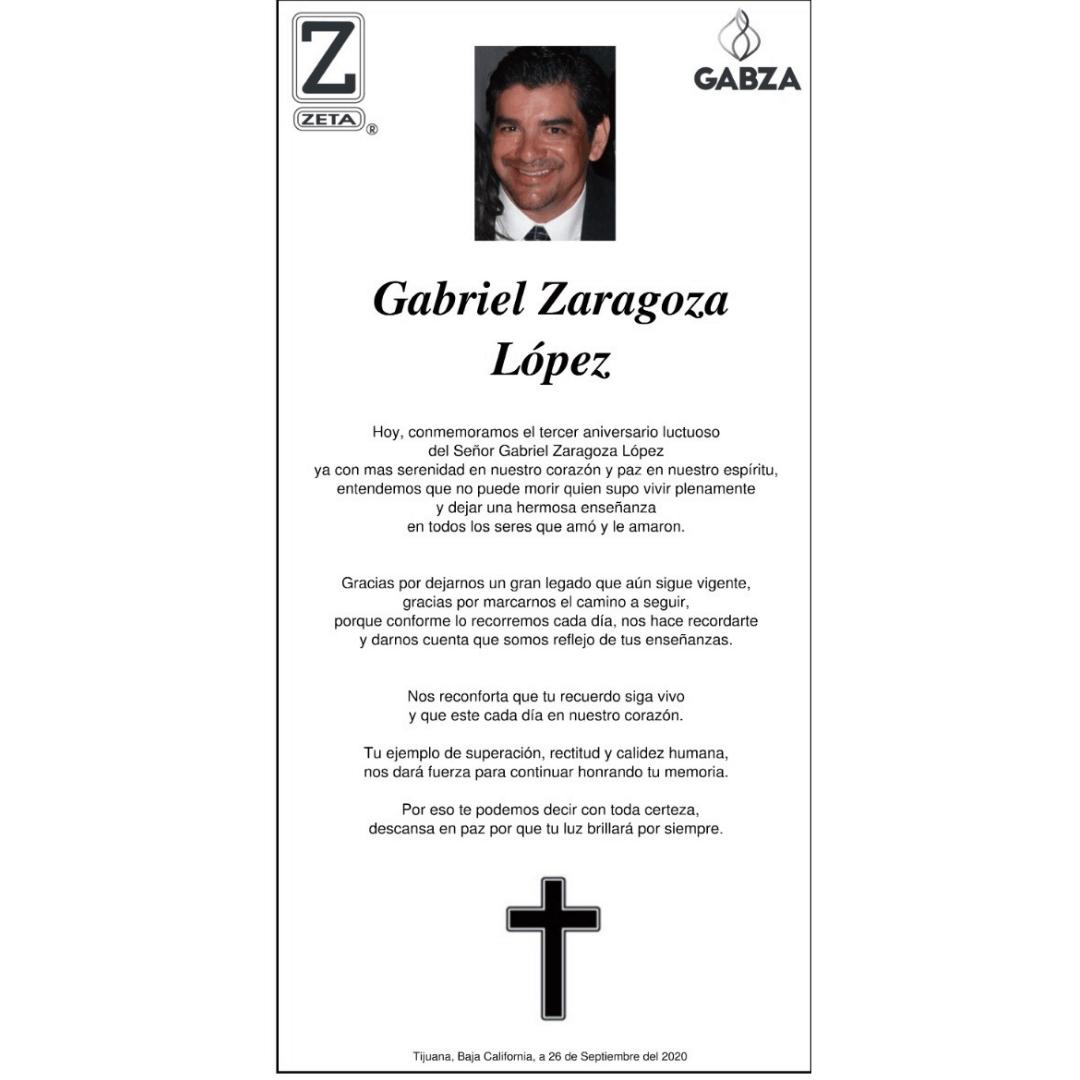 Gabriel Zaragoza López
