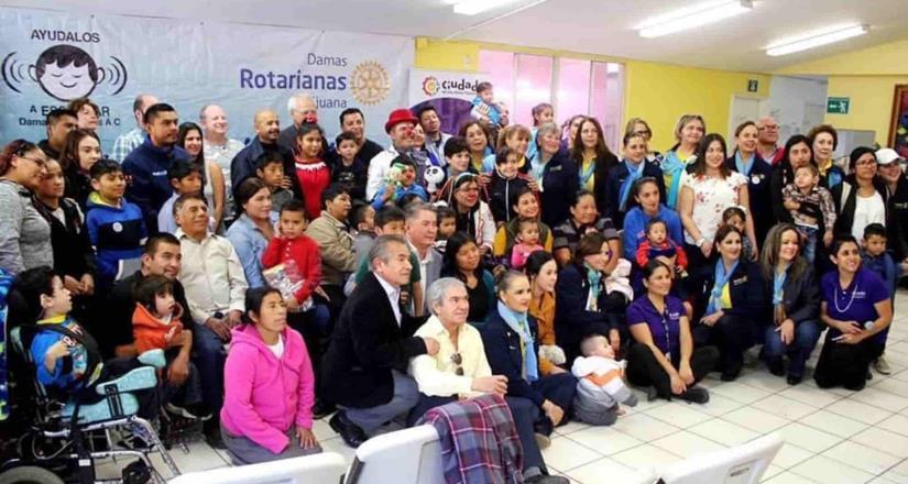 Donarán Rotarios aparatos auditivos