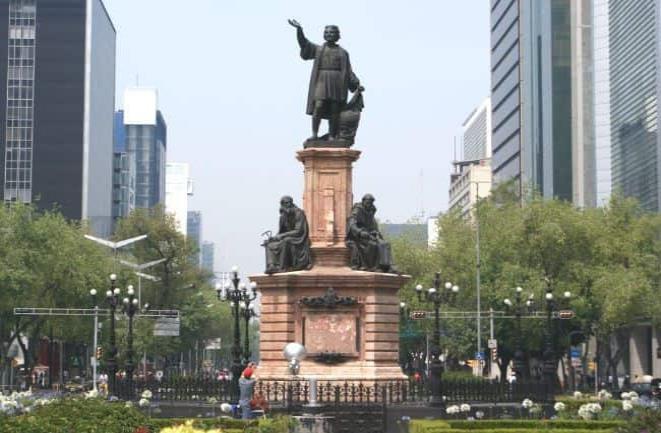 INAH hará análisis y restauración de escultura Colón