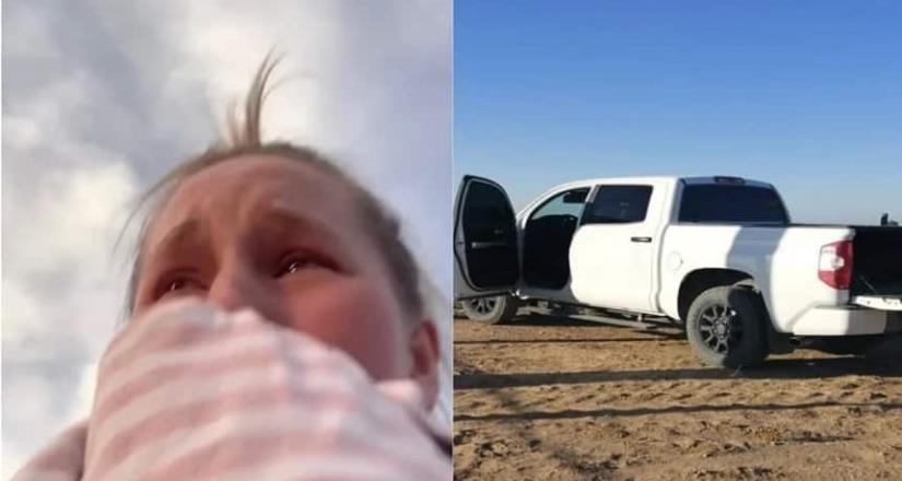 Familia estadounidense recupera camioneta robada en Sonora