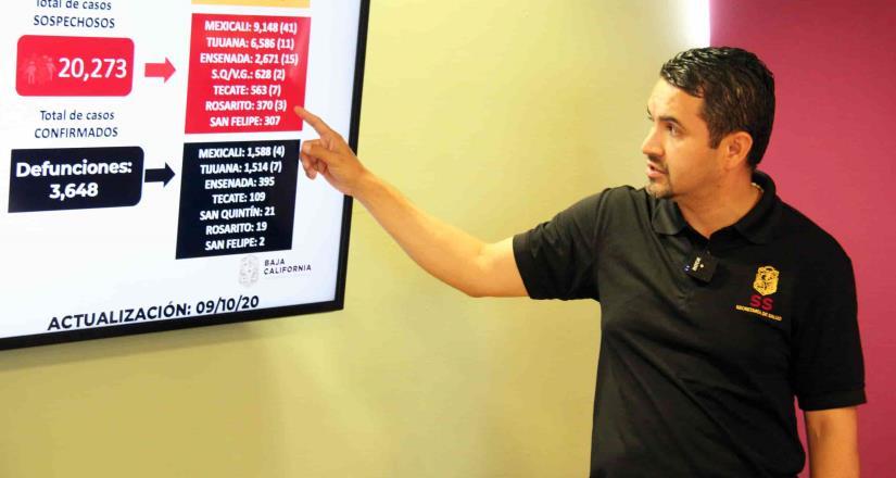 Aumentan casos de pacientes intubados en Baja California
