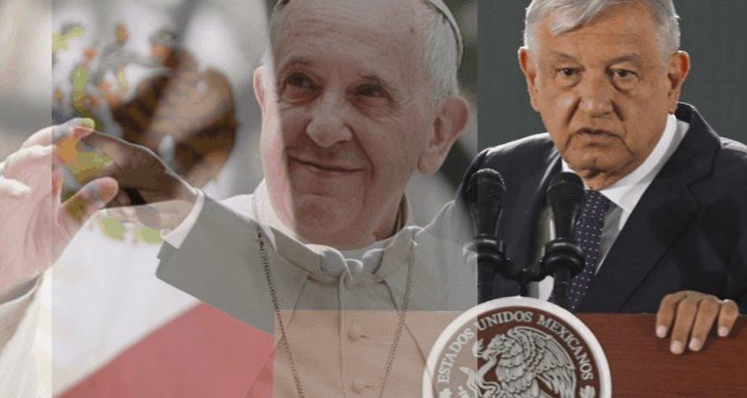 AMLO espera respuesta del Papa
