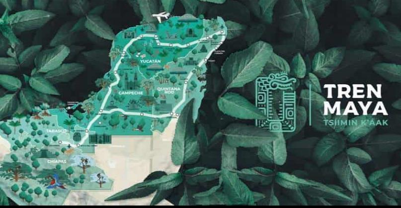 INAH ha dictaminado 100 kilómetros del Tren Maya