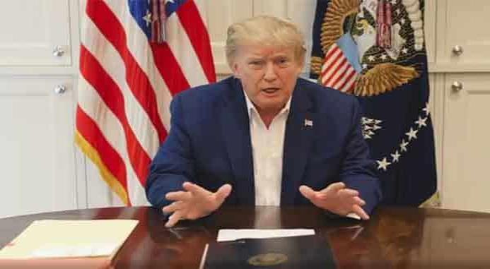 Trump vuelve a la campaña, mientras cancelan debate