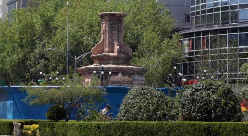 Piden a Sheinbaum explicar retiro de estatua de Colón sobre Reforma