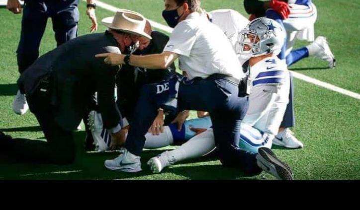 Dak Prescott sufre impactante lesión ante Giants