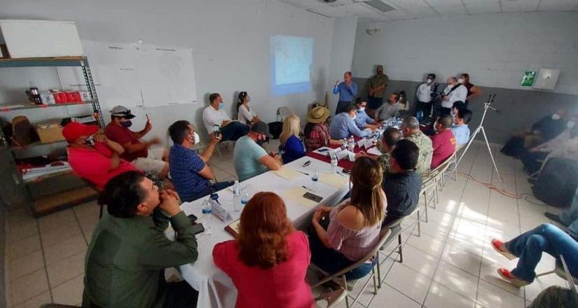 Reunión de trabajo con pesadores rivereños de San Felipe sostuvieron dialogo
